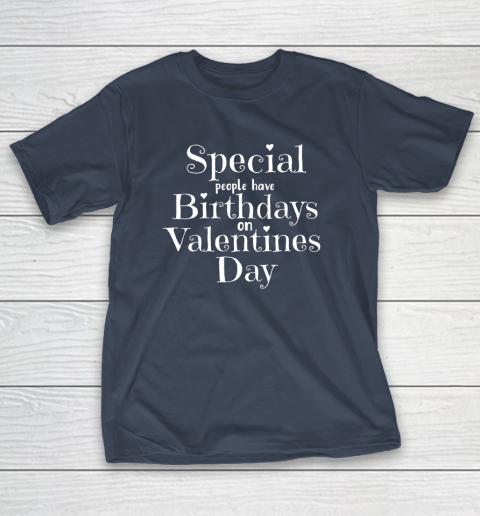 Valentine Birthday Women Girls Born on Valentines Day T-Shirt 3