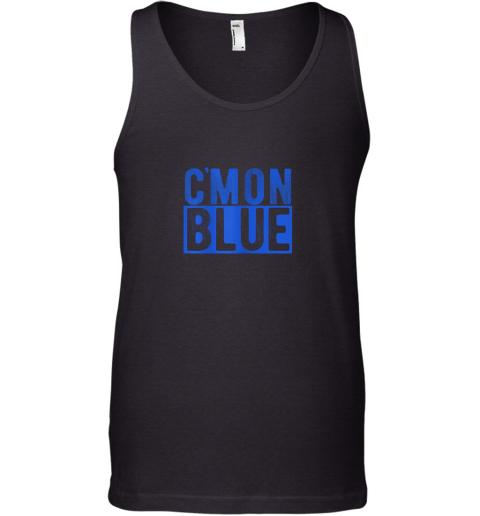 Cmon Blue, Umpire, Baseball Fan Graphic Lover Gift Tank Top