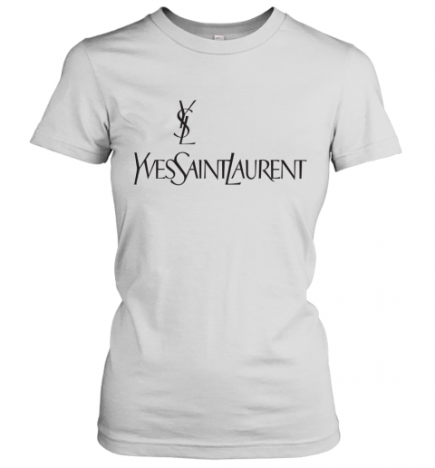 Ysl Yves Saint Laurent Logo Women's T-Shirt