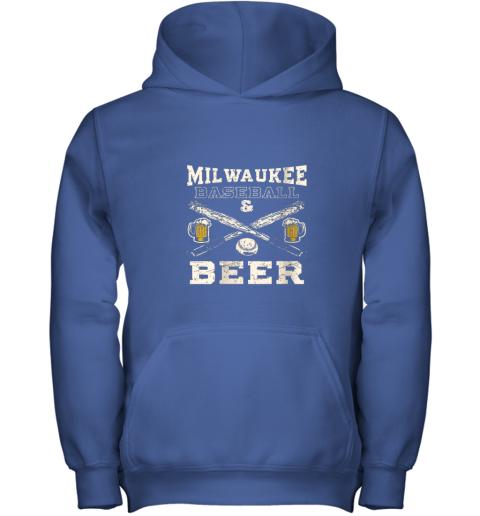 cpmk love milwaukee love baseball youth hoodie 43 front royal