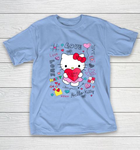 Hello Kitty Love Notes Valentine Tee T-Shirt 10