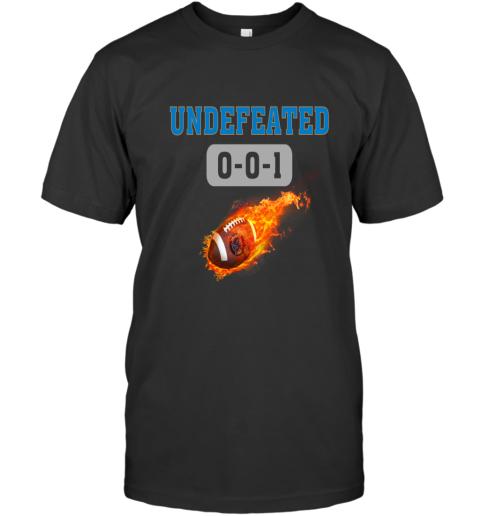 NFL DETROIT LIONS LOGO Undefeated T-Shirt
