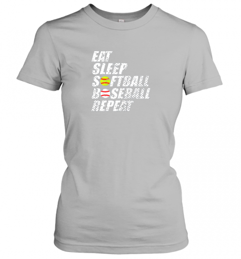 tj5q softball baseball repeat shirt cool cute gift ball mom dad ladies t shirt 20 front sport grey