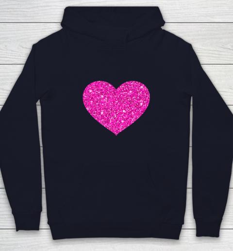 Pink Valentine Heart Love Fun Husband Wife Youth Hoodie 2