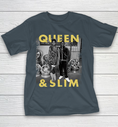 Queen and Slim Poster Youth T-Shirt 5