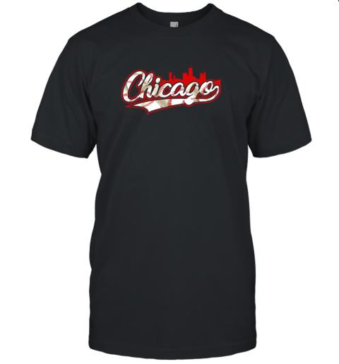 Chicago Vintage Baseball Unisex Jersey Tee