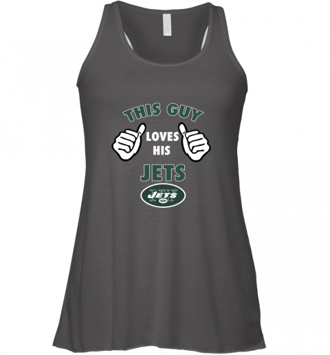 2ukv this guy loves his new york jets flowy tank 32 front dark grey heather