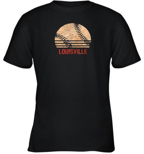 Vintage Baseball Louisville Shirt Cool Softball Gift Youth T-Shirt