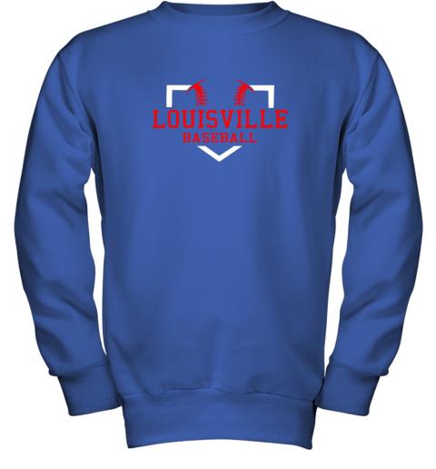lxwm vintage louisville baseball kentucky gift youth sweatshirt 47 front royal