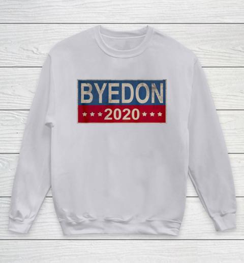 Bye Don 2020 ByeDon Button Joe Biden Funny Anti Trump Youth Sweatshirt 2