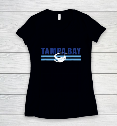 Cool Tampa Bay Local Sting ray TB Standard Tampa Bay Fan Pro Women's V-Neck T-Shirt