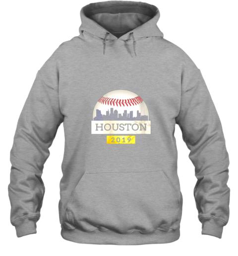 mryl houston baseball shirt 2019 astro skyline on giant ball hoodie 23 front sport grey