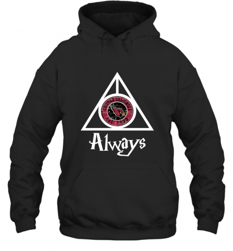 Always Love The Arizona Cardinals x Harry Potter Mashup Hoodie
