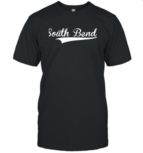 SOUTH BEND Baseball Styled Jersey Shirt Softball Unisex Jersey Tee