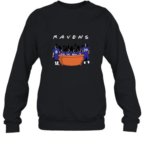 The Baltimore Ravens Together F.R.I.E.N.D.S NFL Sweatshirt