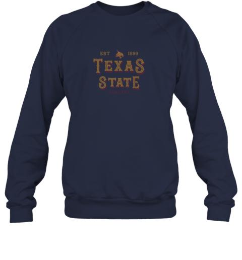 xk2w texas state bobcats womens college ncaa sweatshirt 35 front navy