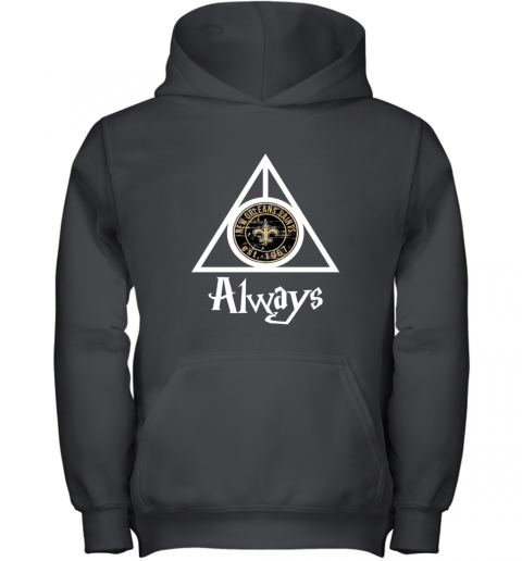 Always Love The New Orleans Saints x Harry Potter Mashup NFL Youth Hoodie