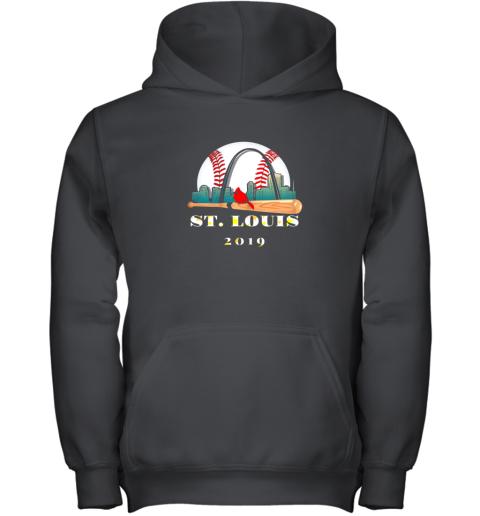Saint Louis Red Cardinal Shirt Cool Baseball 2019 Design Youth Hoodie