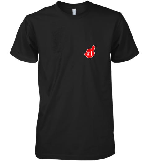 # 1 Cleveland Hometown Indian Tribe vintage Baseball Fans Premium Men's T-Shirt