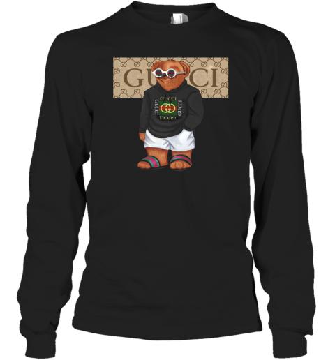 Gucci Bear Style Fashion Adult Long Sleeve T-Shirt
