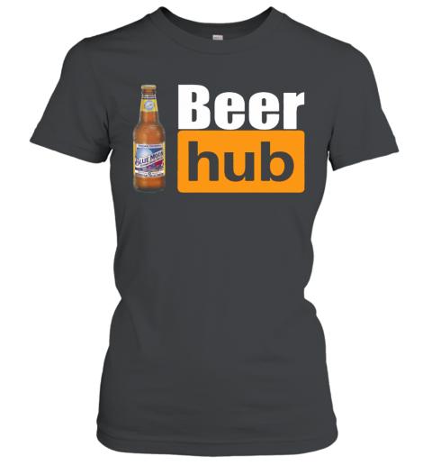 Blue Moon Beer Hub Porn Hub Style Beer Women's T-Shirt
