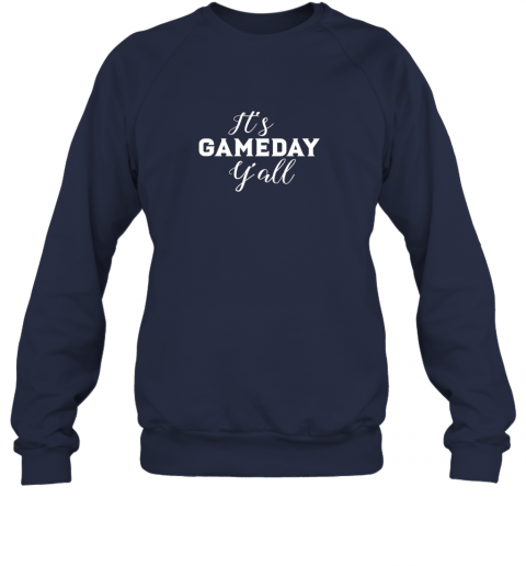 ttpd it39 s game day y39 all football baseball basketball sweatshirt 35 front navy