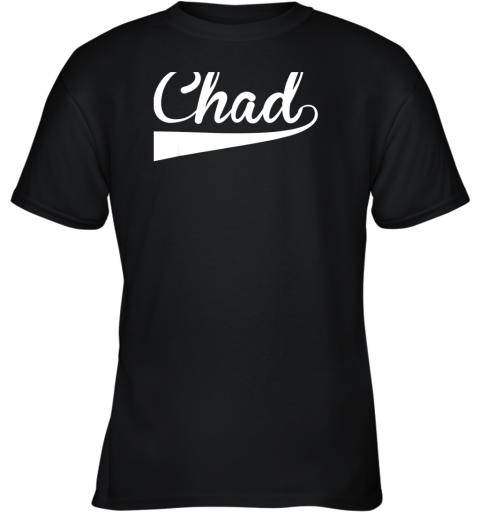 CHAD Country Name Baseball Softball Styled Youth T-Shirt