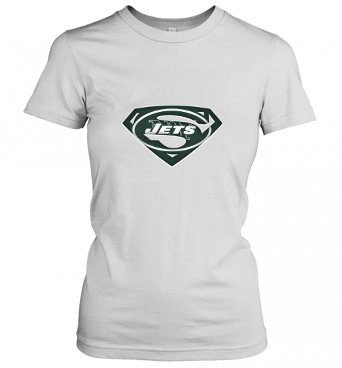We Are Undefeatable The New York Jets x Superman NFL Women's T-Shirt