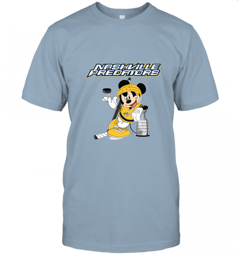 brz9 mickey nashville predators with the stanley cup hockey nhl jersey t shirt 60 front light blue