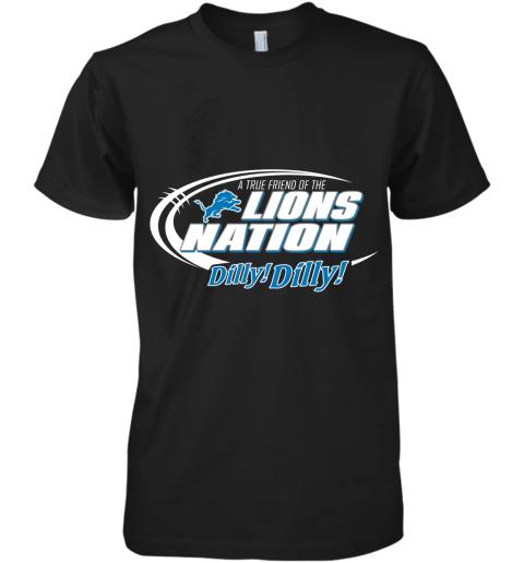 A True Friend Of The Lions Nation Premium Men's T-Shirt