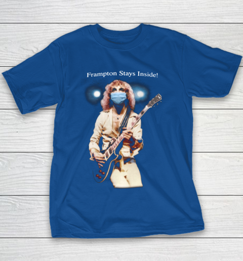 Peter Frampton Covid Stays Inside Youth T-Shirt 6