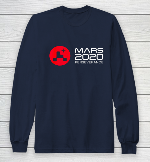 Mars Rover Perseverance 2021 NASA Long Sleeve T-Shirt 2
