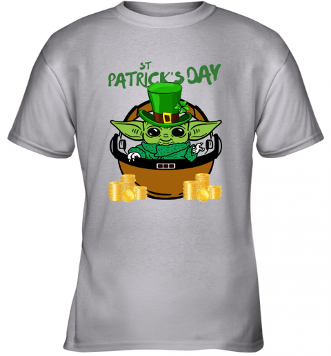 q6v9 baby yoda st patricks day outfit youth t shirt 26 front sport grey