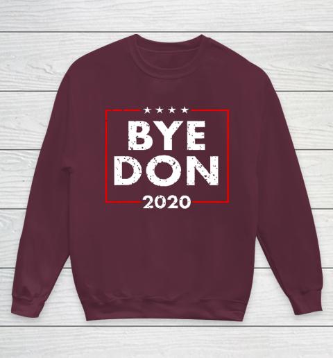 ByeDon 2020 Joe Biden 2020 American Election Youth Sweatshirt 4