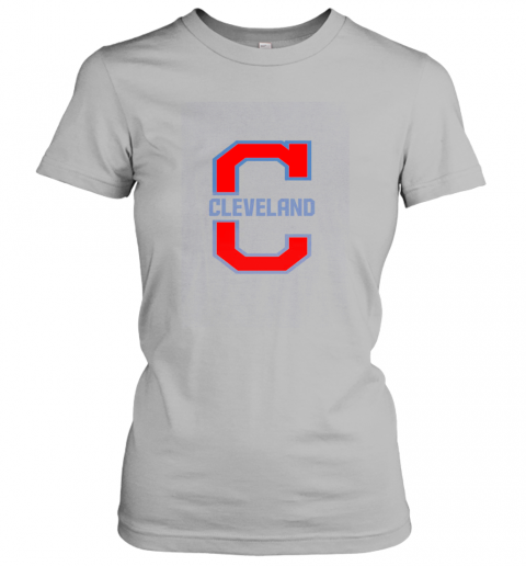 wexi cleveland hometown indian tribe vintage for baseball fans ladies t shirt 20 front sport grey