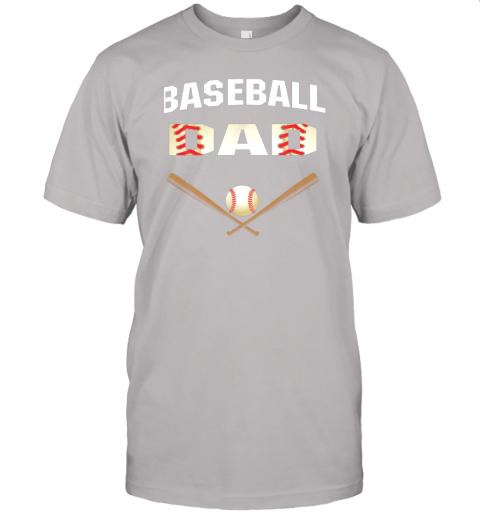 jsmu mens baseball dad shirtbest gift idea for fathers jersey t shirt 60 front ash