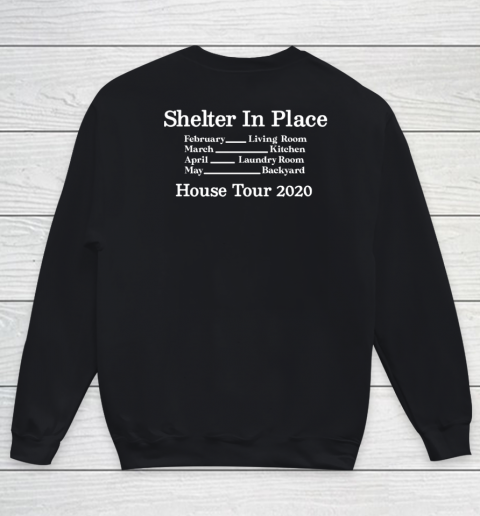 Peter Frampton Covid Stays Inside Youth Sweatshirt 9