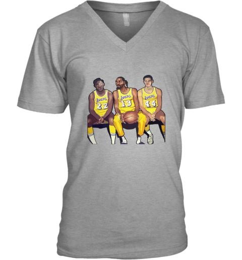 Elgin Baylor x Snoop Dogg x Jerry West Funny V-Neck T-Shirt