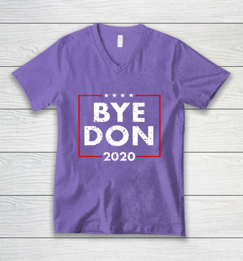 ByeDon 2020 Joe Biden 2020 American Election V-Neck T-Shirt 8