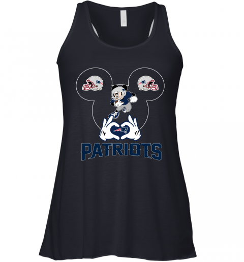 2exs i love the patriots mickey mouse new england patriots flowy tank 32 front midnight