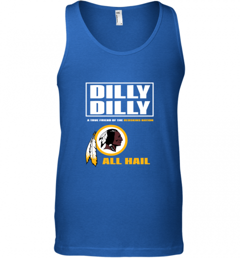y1jt a true friend of the redskins unisex tank 17 front royal