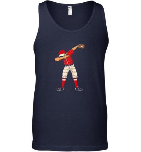 sqr2 dabbing baseball catcher gift shirt kids men boys bzr unisex tank 17 front navy