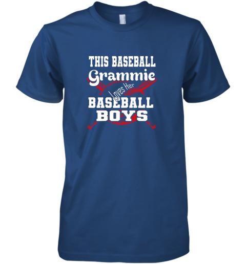 yoca this baseball grammie loves her baseball boys premium guys tee 5 front royal