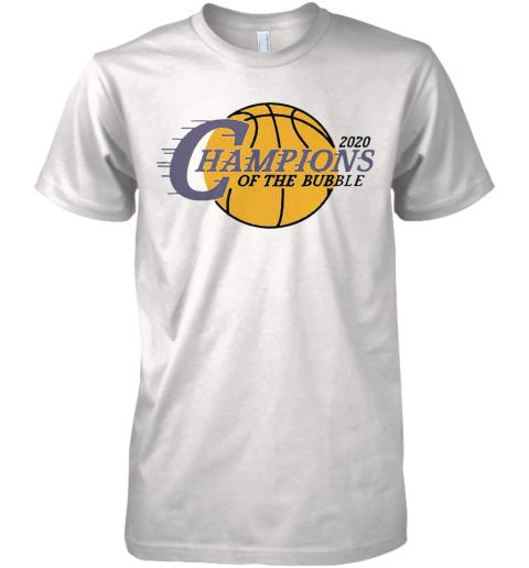 2020 L.A Champions Of The Bubble Premium Men's T-Shirt