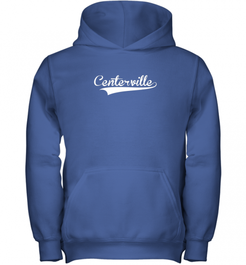 s7mq centerville baseball softball styled youth hoodie 43 front royal