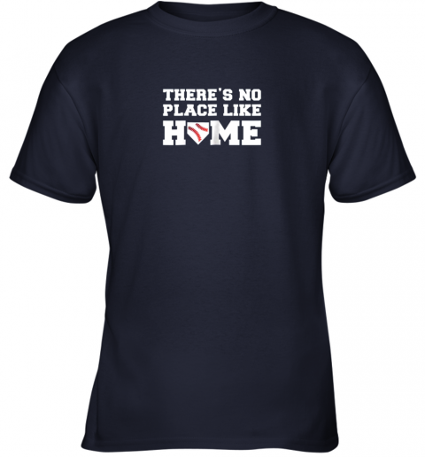 lfbp there39 s no place like home baseball shirt kids baseball tee youth t shirt 26 front navy