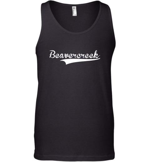 BEAVERCREEK Baseball Styled Jersey Shirt Softball Tank Top