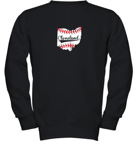 Cleveland Ohio 216 Baseball Youth Sweatshirt