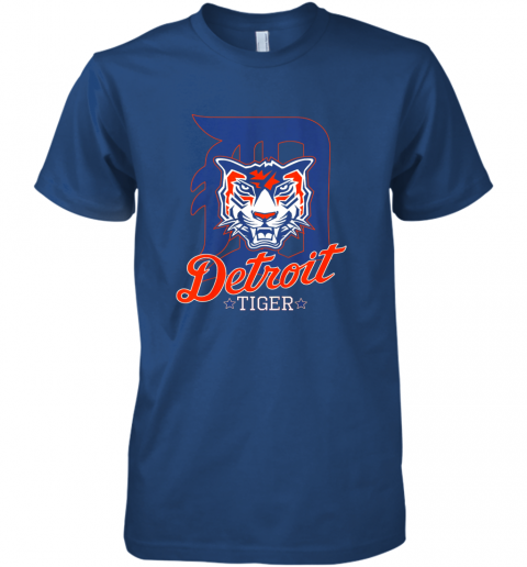 wwys tiger mascot distressed detroit baseball t shirt new premium guys tee 5 front royal