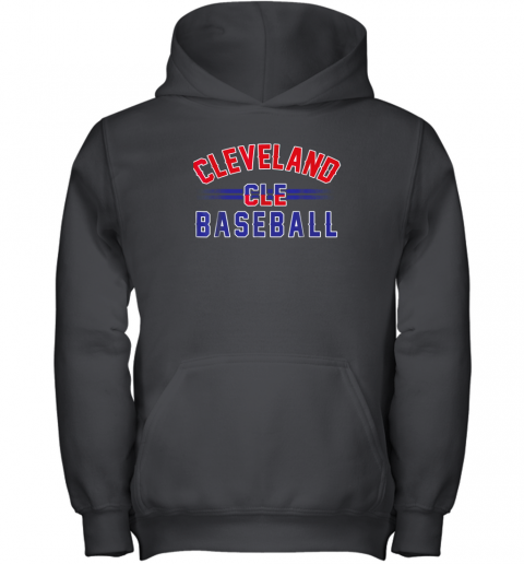 Cleveland CLE Baseball Youth Hoodie